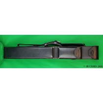 2x4 Black Leather Mason Case