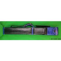 2x4 Blue Leather Mason Case