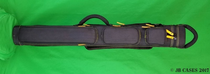 2x3 Black Ultimate Rugged with Yellow Stitching