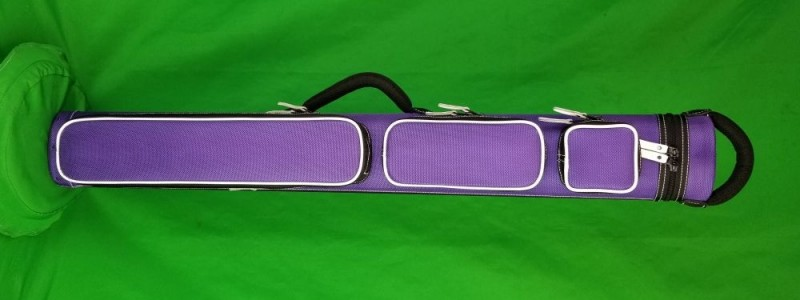 2x3 Purple Ultimate Rugged with White Piping