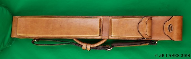 2x4 Hand-Sewn Leather Mason Case