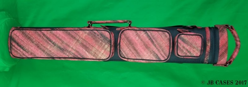 2x5/3x4 Black and Red Basket Weave Ultimate Hybrid with Pocket Tray