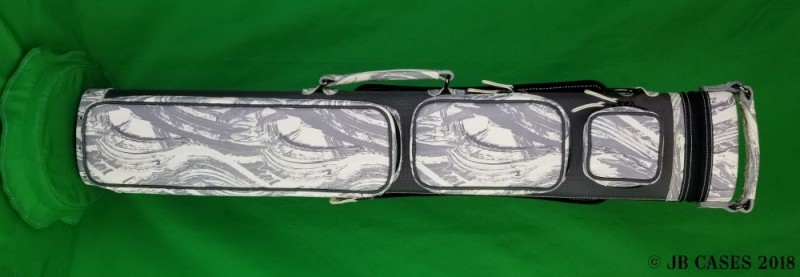 2x5/3x4 Slate Grey Ultimate Hybrid with Light Grey Camo Leather and Pocket Tray