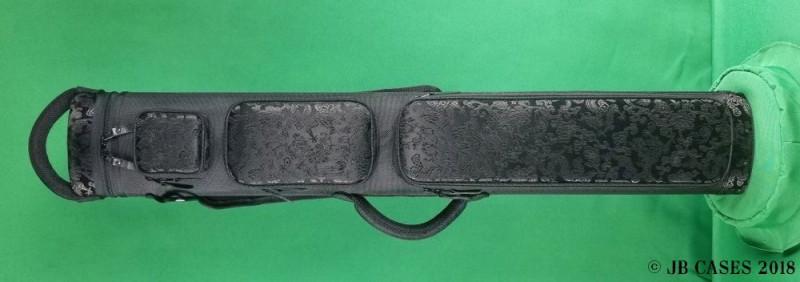 "2x5/3x4 Asian Zing ""Black Silk"" Ultimate Rugged Case"