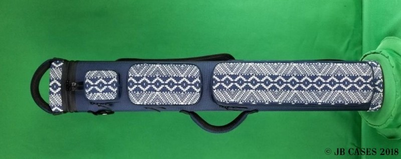 2x5/3x4 Asian Zing Navy Blue and White Print Ultimate Rugged Case