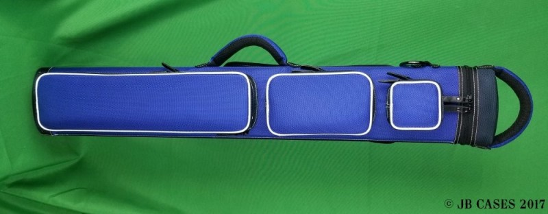 2x5/3x4 Blue Ultimate Rugged with White Piping