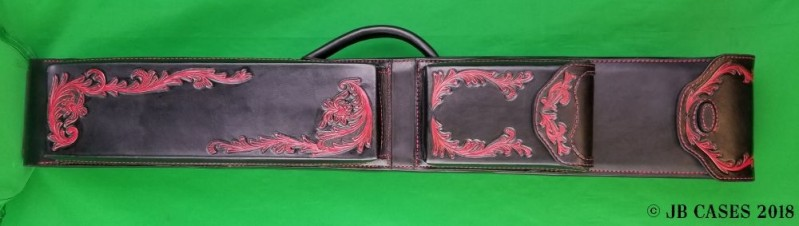"3x6 ""Devil's Vine"" Leather Mason Case"