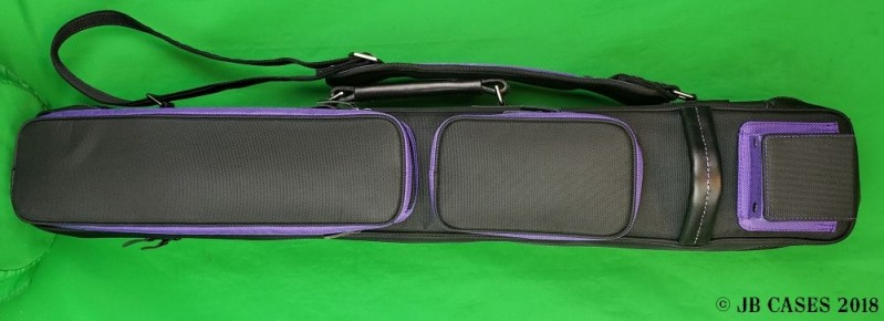 3X6 Black Butterfly Case with Purple Pocket Sides