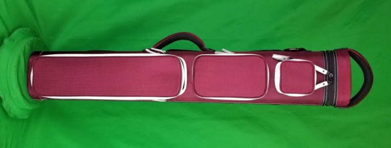 3x6 Maroon Ultimate Rugged with White Pocket Sides