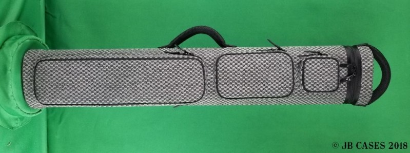 4x8 Grey Textured Tweed Ultimate Rugged