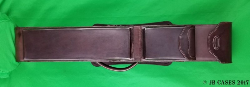 3x6 Brown Leather Mason Case
