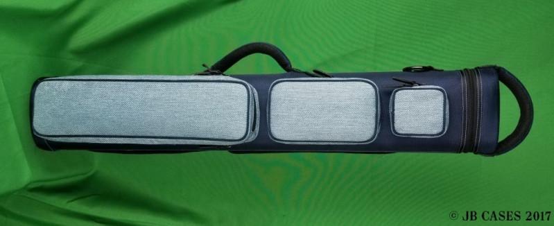 4x8 Navy Blue Tweed Ultimate Rugged