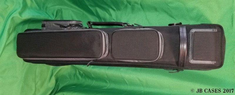 Black and Slate Grey Custom Butterfly Case
