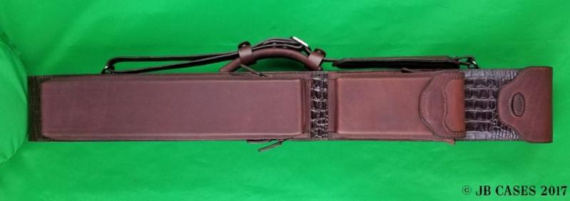 2x4 Leather Mason Case