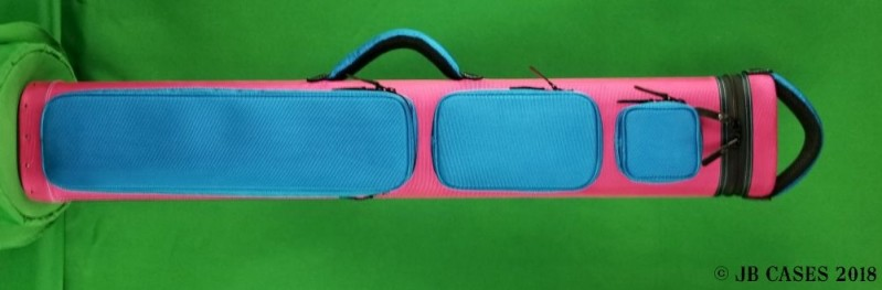 Pink and Teal Custom Case